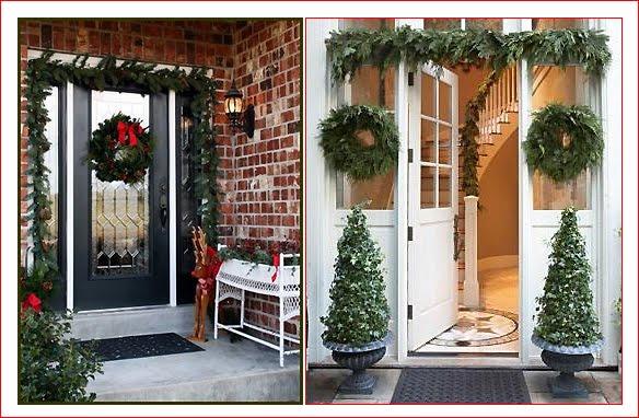 Abete normandiano vero fiori freschi a casa tua - Addobbi natalizi per le finestre ...